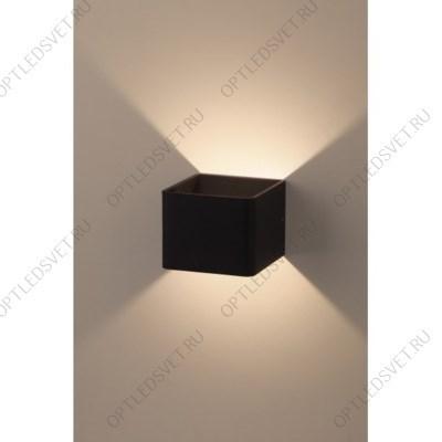 Ecola GX53 LED B4157S светильник накладной IP65 матовый Прямоугольник/Пирамида алюмин. 2*GX53 Белый 215x135x85 - фото 33277