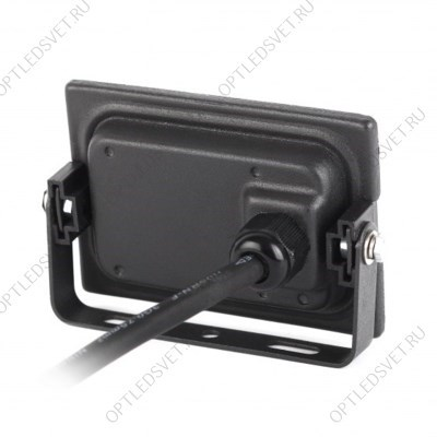 Ecola GX53 LED 8013A светильник накладной IP65 прозрачный Цилиндр металл. 2*GX53 Черный 205x140x90 - фото 33359