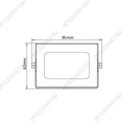 Ecola LED panel универс. (без ступеньки) панель с драйвером внутри 36W 220V 4200K Призма 595x595x19 - фото 33365