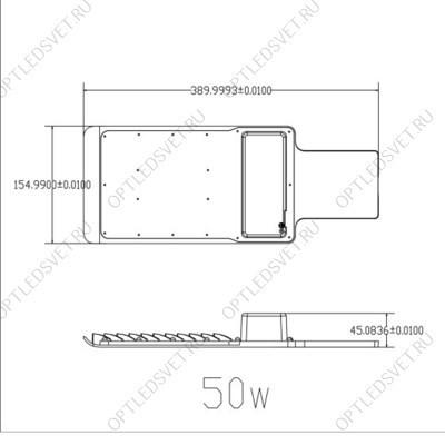 Ecola GX53 FT8073 светильник накладной черненая бронза 25x82 - фото 33537