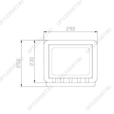 Ecola LED panel тонкая панель без драйвера 40W 220V 4200K Матовая 595x595x9 (БЕЗ ДРАЙВЕРА) - фото 33550