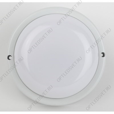 "Ecola Light GX70 LED ДПП 03-60-3 светильник Сириус Круг накладной IP65 1*GX70 прозрачный белый 220х220х100"""" - фото 33589"