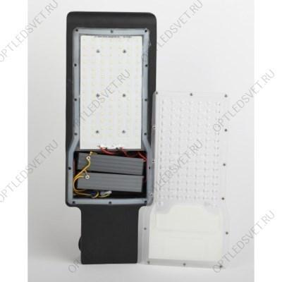 Светильник светодиодный ДВО-12w 4000K 960Лм квадратный со стеклом белый (AL2111) - фото 33652