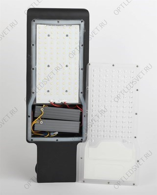 Светильник светодиодный трековый на шинопровод ДПО-12w 4000К 1080Лм 35 гр. черный (AL100) - фото 33659