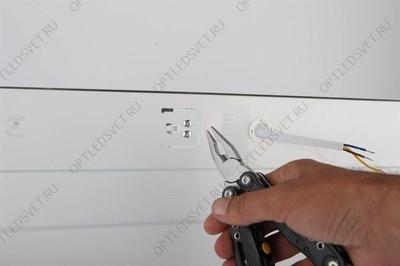 Светильник светодиодный ДСП-100вт 6400К 11000Лм 120 гр. IP65 (AL1004) - фото 33741