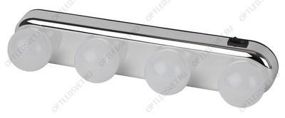 Светильник светодиодный ДВО-24w 4000K 1500Лм slim белый (AL501) - фото 33949