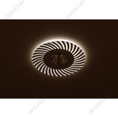 Светильник светодиодный ДПО-18w 4000К 1440Лм наклонный 35 гр. белый (AL519) - фото 34896