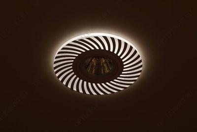 Светильник светодиодный ДПО-25w 4000К 2250Лм наклонный черный (AL520) - фото 34899