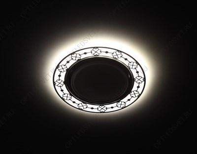 Светильник НБУ-100w вверх Е27 IP44 черный/золото (8101 чер/зол) - фото 34999