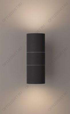 Светильник светодиодный уличный ДБУ-2х3w вверх/вниз 4000K IP54 белый (DH012) - фото 35213