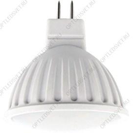 Светильник светодиодный ДБП-8w 4000К 530Лм IP54 овальный пластиковый белый - фото 35943