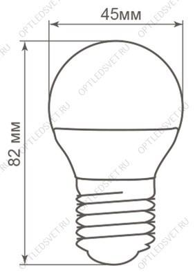 Светильник светодиодный ДВО-45w 595х595х20 4000К 4000Лм опал IP20 - фото 35995