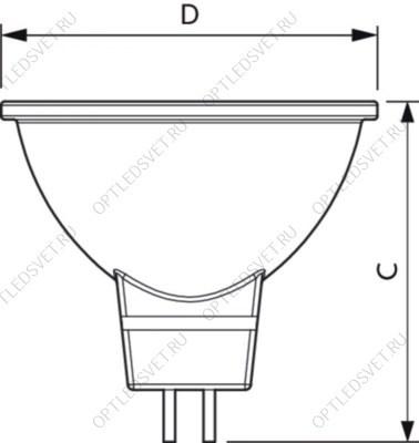 Светильник НПП-60w прямоугольный без решетки IP54 - фото 36204