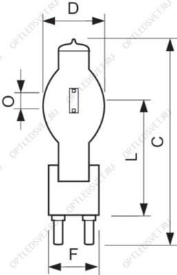 Светильник светодиодный промышленный ДСП- 150w 4000K15000Лм IP65  110° Jazzway - фото 36292
