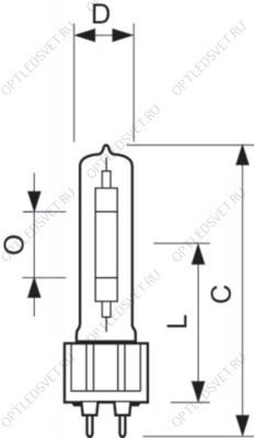 Светильник светодиодный ДКУ-30W IP65 3400Лм 5000К Jazzway - фото 36337