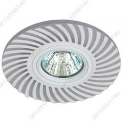 Светильник светодиодный ДПО-10w 4000К 800Лм наклонный 30 гр. белый (AL517)