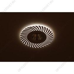 Светильник светодиодный ДПО-18w 4000К 1440Лм наклонный 35 гр. белый (AL519)