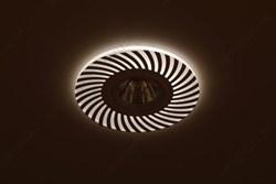 Светильник светодиодный ДПО-25w 4000К 2250Лм наклонный черный (AL520)