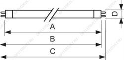 Светильник светодиодный КЕДР EX (ССП) 100Вт IP67 10500Лм КСС Ш
