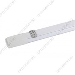 Светильник светодиодный ДПО/ДСО-36Вт, IP20, 4200Лм, 6500К, 1188*180*50мм, грильято с планками для подвеса, с рамкой