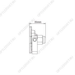 НСБ 01-60-251  , шар опал подвес цепь D=250 mm (6/48) ЭРА