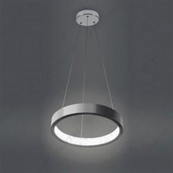 Светильник точечный DK LD2 SL/WH+PU, декор cо светодиодной подсветкой (белый+фиолетовый), прозрачный (Б0019198)