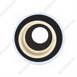 DK LD4 TEA/WH Точечные светильники ЭРА декор c белой светодиодной подсветкой,  чай (Б0019206)