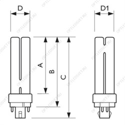 Лампа TUV PL-L 24W/4P 1CT/25 (927903204007)