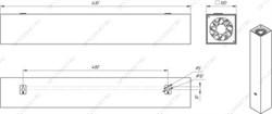 Кабель медный силовой 3х1,5 ВВГнг(А)-LS 3х1,5 ок(N,PE)-0,66 [БУХТА]  25 м